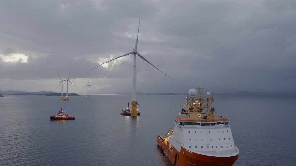 The report covers the work of various operators including SSE, Vattenfall and Equinor