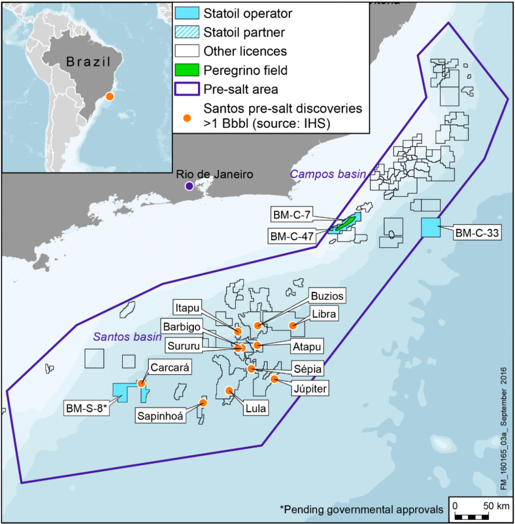 Statoil in Brazil