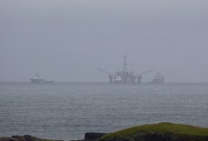 Buchan Alpha arriving in Shetland
