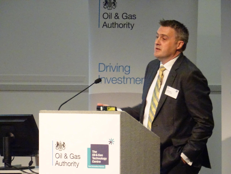 Total E&P UK's head of technological innovation David MacKinnon