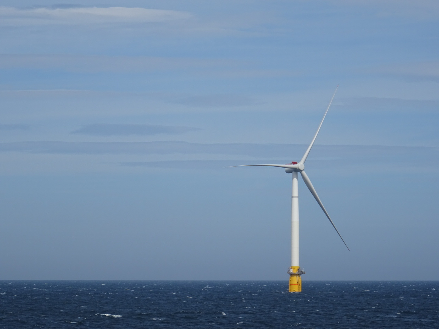 A turbine used in Equinor's Hywind development off Peterhead