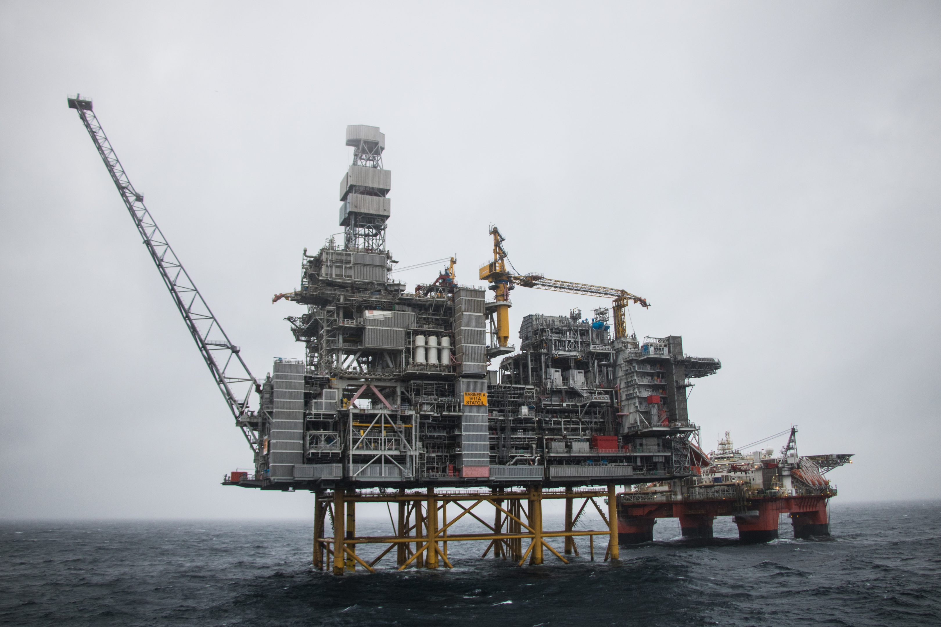 Mariner platform. Photo credit: Jamie Baikie/Equinor