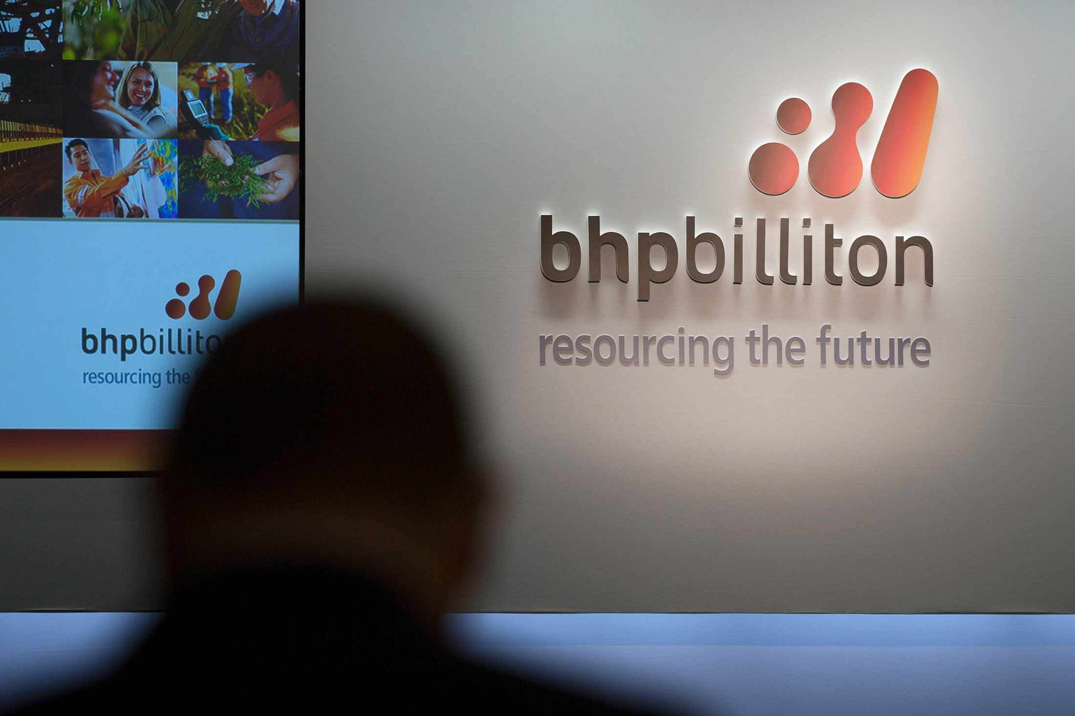 A BHP Billiton Ltd.. Photographer: Simon Dawson/Bloomberg