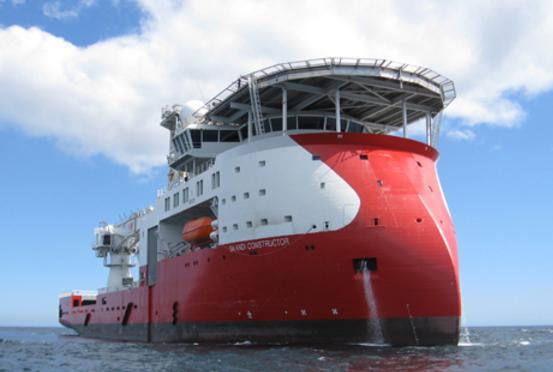 A DOF vessel