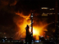 A blaze at PetroChina's plant in northeastern China has been put out.