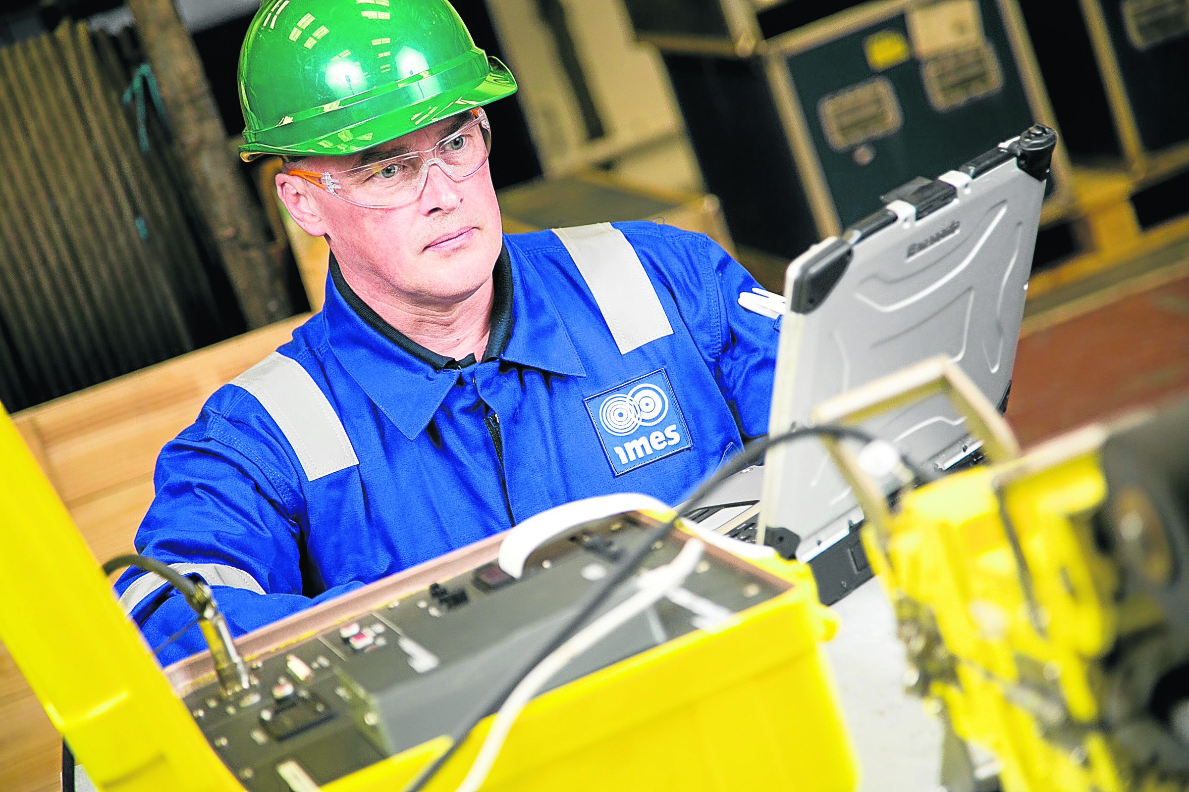 Imes provides inspection and engineering services and monitoring and control systems for energy and defence customers