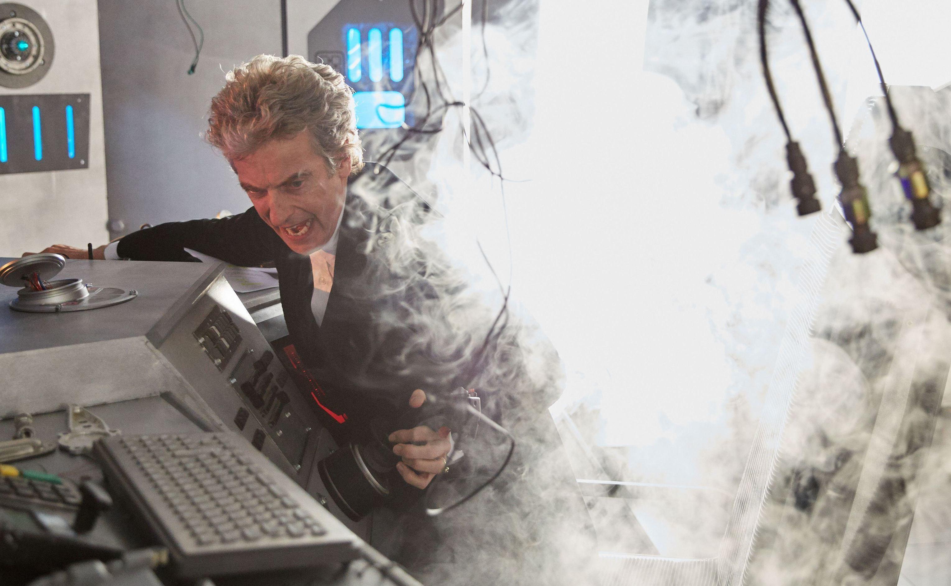 Doctor Who (PETER CAPALDI) - (C) BBC - Photographer: Simon Ridgway