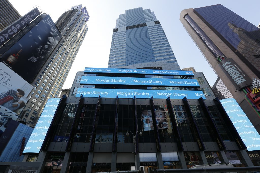 Morgan Stanley vow to be carbon neutral.