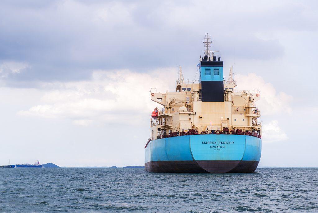 The Maersk Tangier tanker