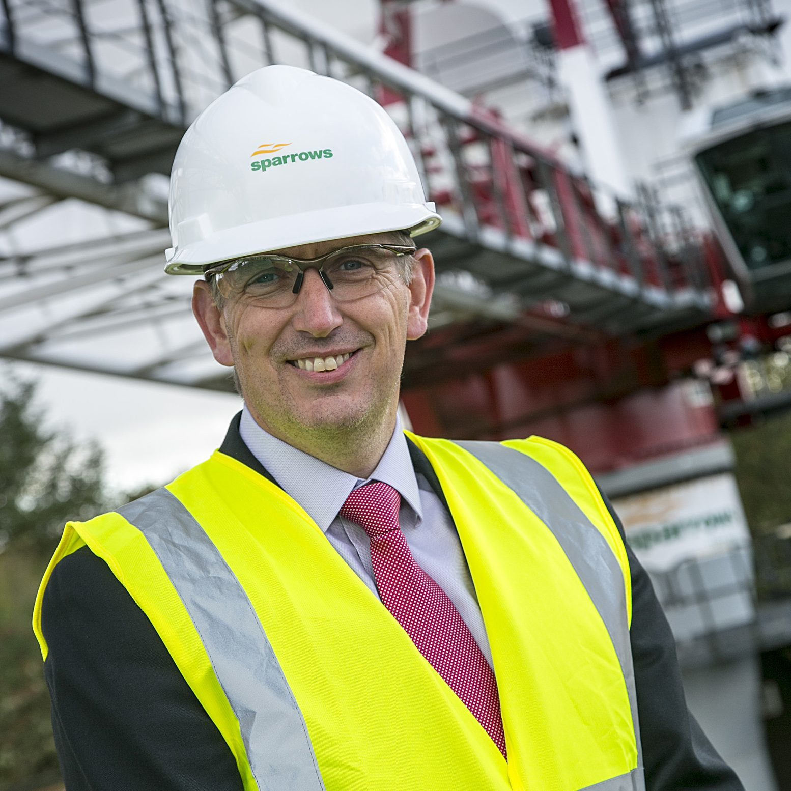 Matt Corbin, regional operations director for the UK and Europe at Sparrows Group.
