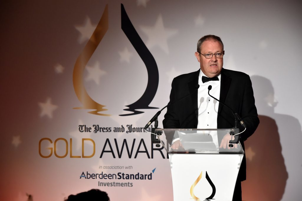 Press & Journal's Gold Awards 2017, at the Marcliffe Hotel.  Picture of Richard Neville.  Picture by KENNY ELRICK     08/09/2017