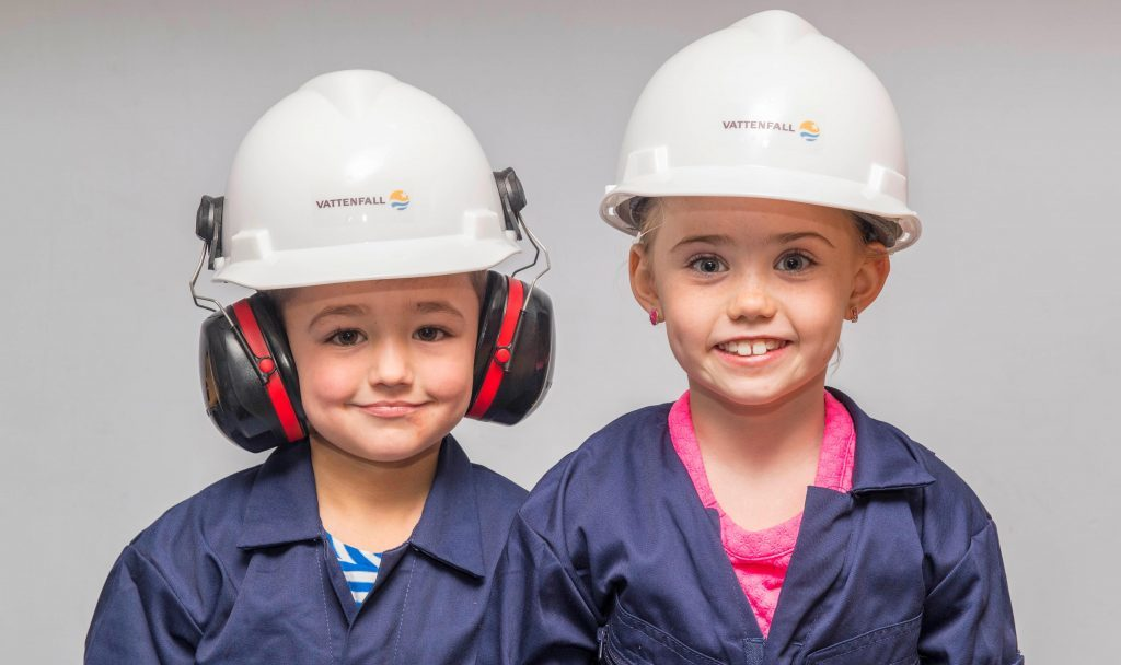 Vattenfall show their commitment to the north-east area.