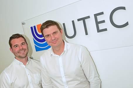 Jonathan Watt and Mick Elmslie, Business Unit Directors of Europe and Africa at UTEC