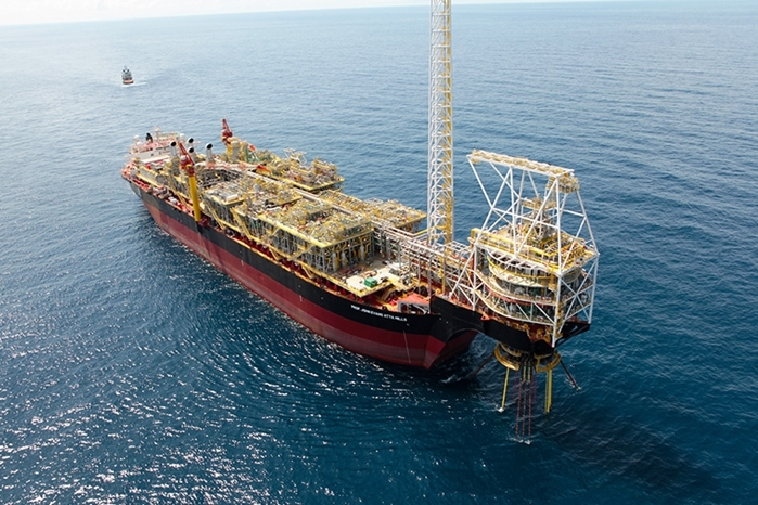 The FPSO on the TEN fields.