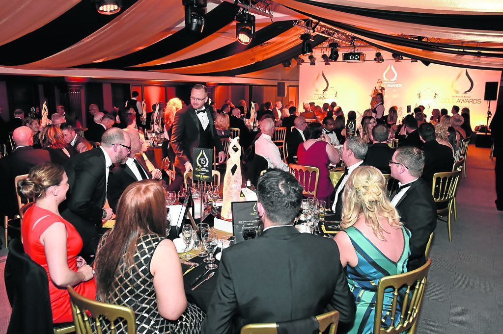 The Press and Journal's Gold Awards 2017, at the Marcliffe Hotel.