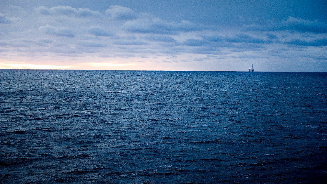 The Åsgard field in the Norwegian Sea. (Photo: Ole Jørgen Bratland)