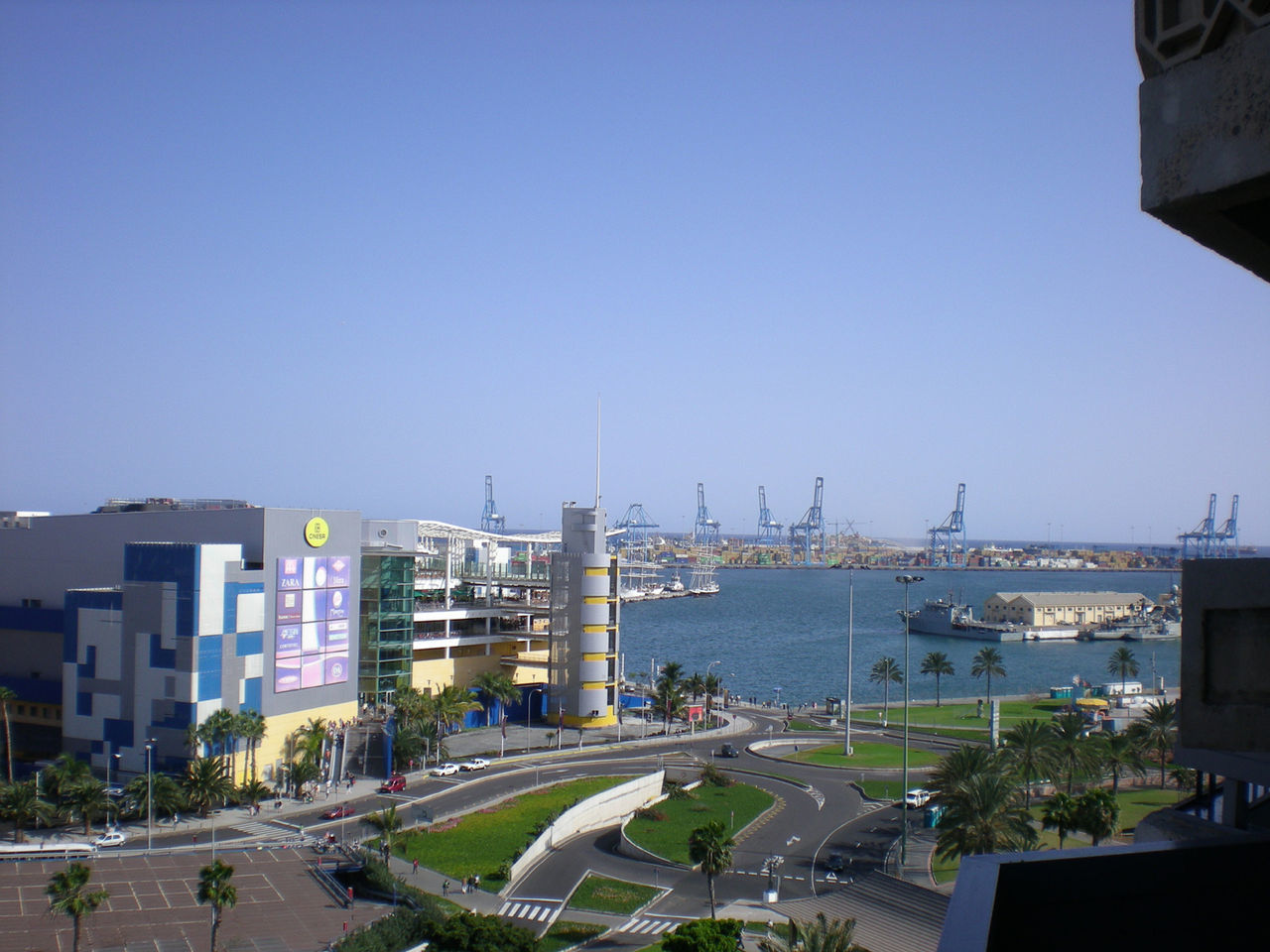 Luz Port in Gran Canaria