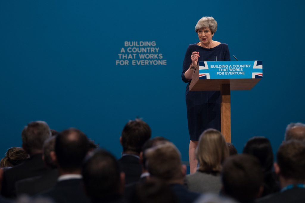 Theresa May's government wants to fast track fracking.