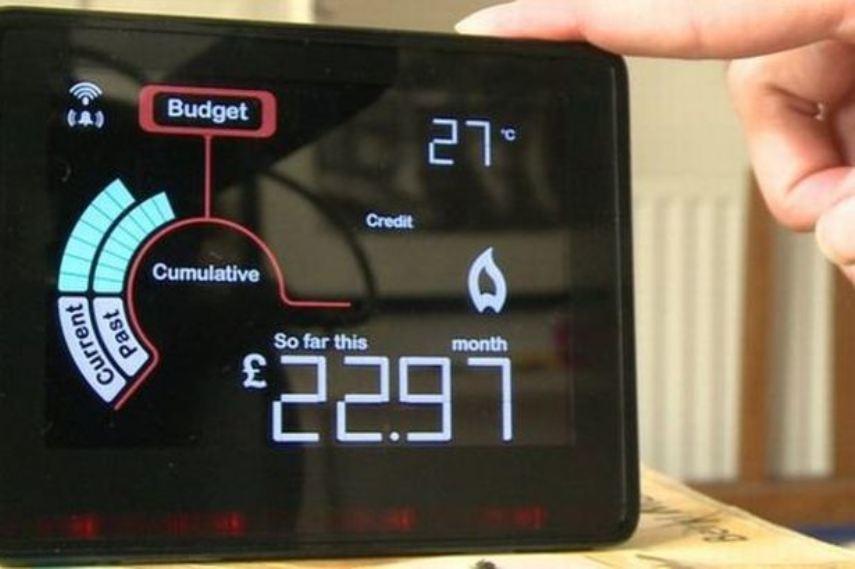 UK smart meter, picture by Steve Finan.