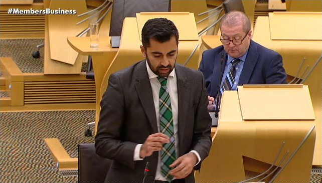 Scottish transport minister Humza Yousaf
