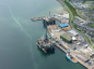 A file photo of Semco Maritime's rig facilities at Queens Dock in Invergordon.