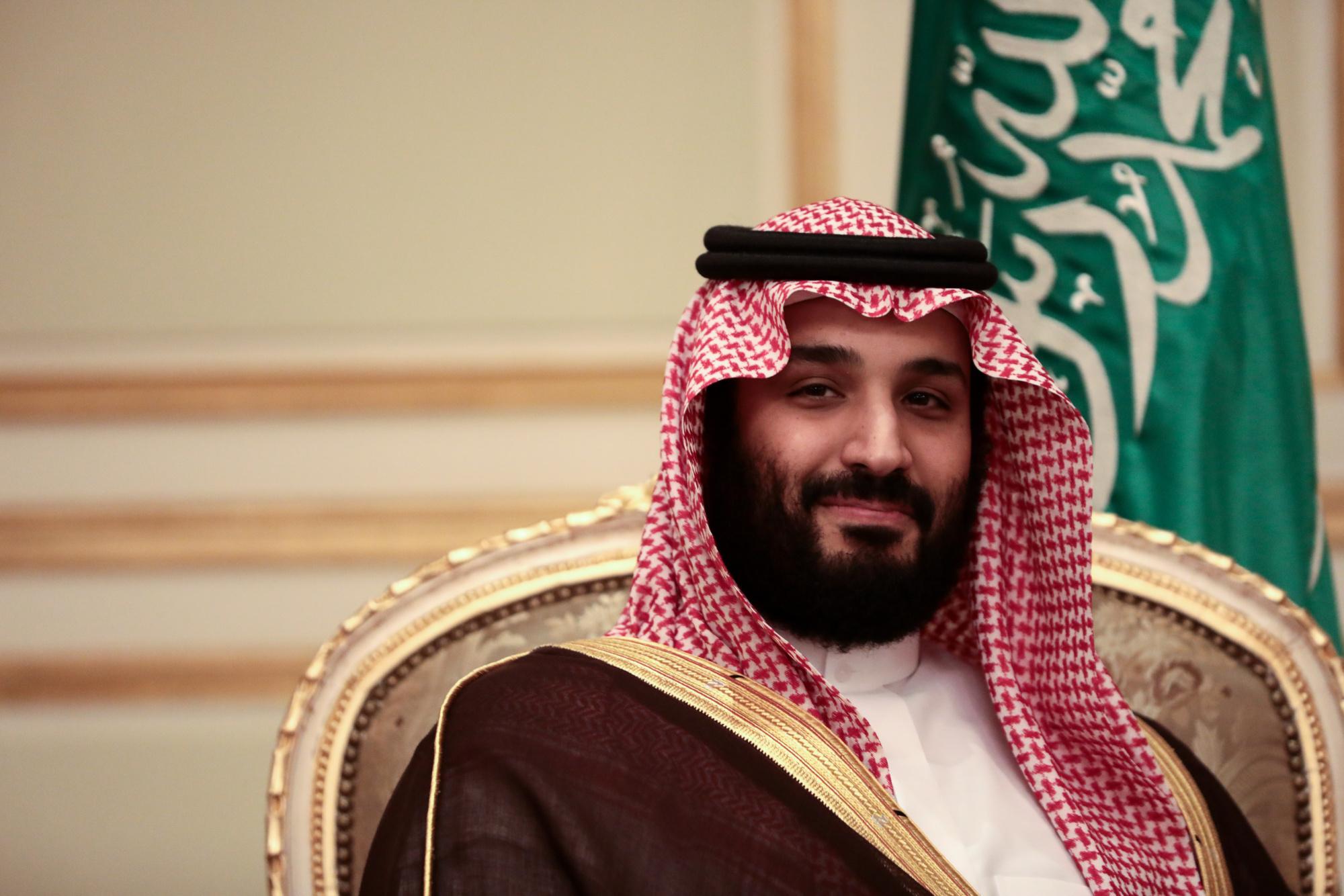 Mohammed bin Salman, Saudi Arabia's Crown Prince. Photographer: Simon Dawson/Bloomberg