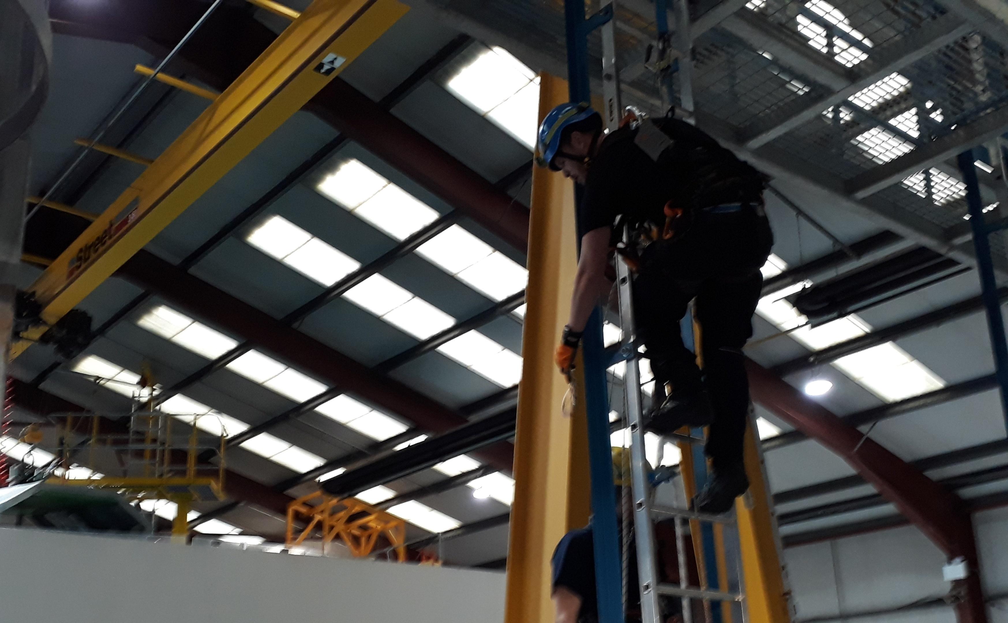 Maersk Training Centre in Aberdeen.