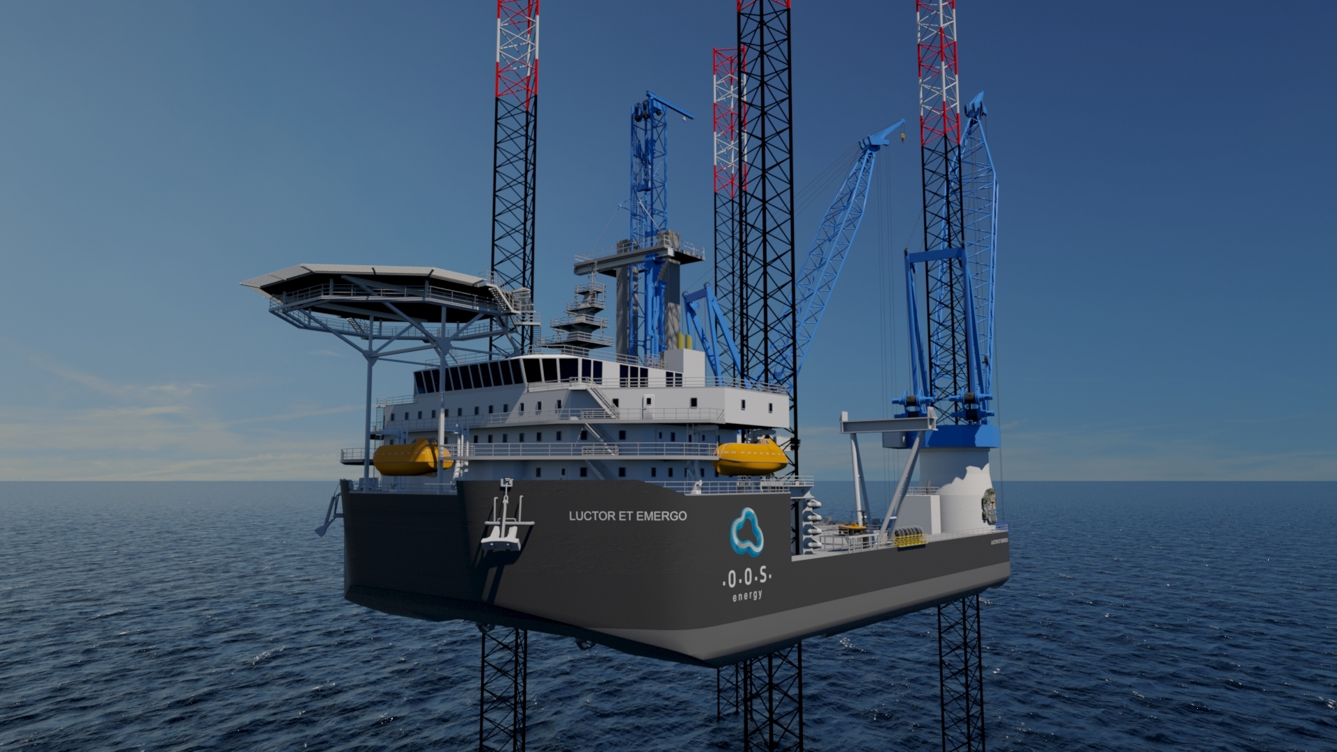The Chameleon unit is operational for offshore oil and gas, renewables and decom. Credit: CDC Scotland.
