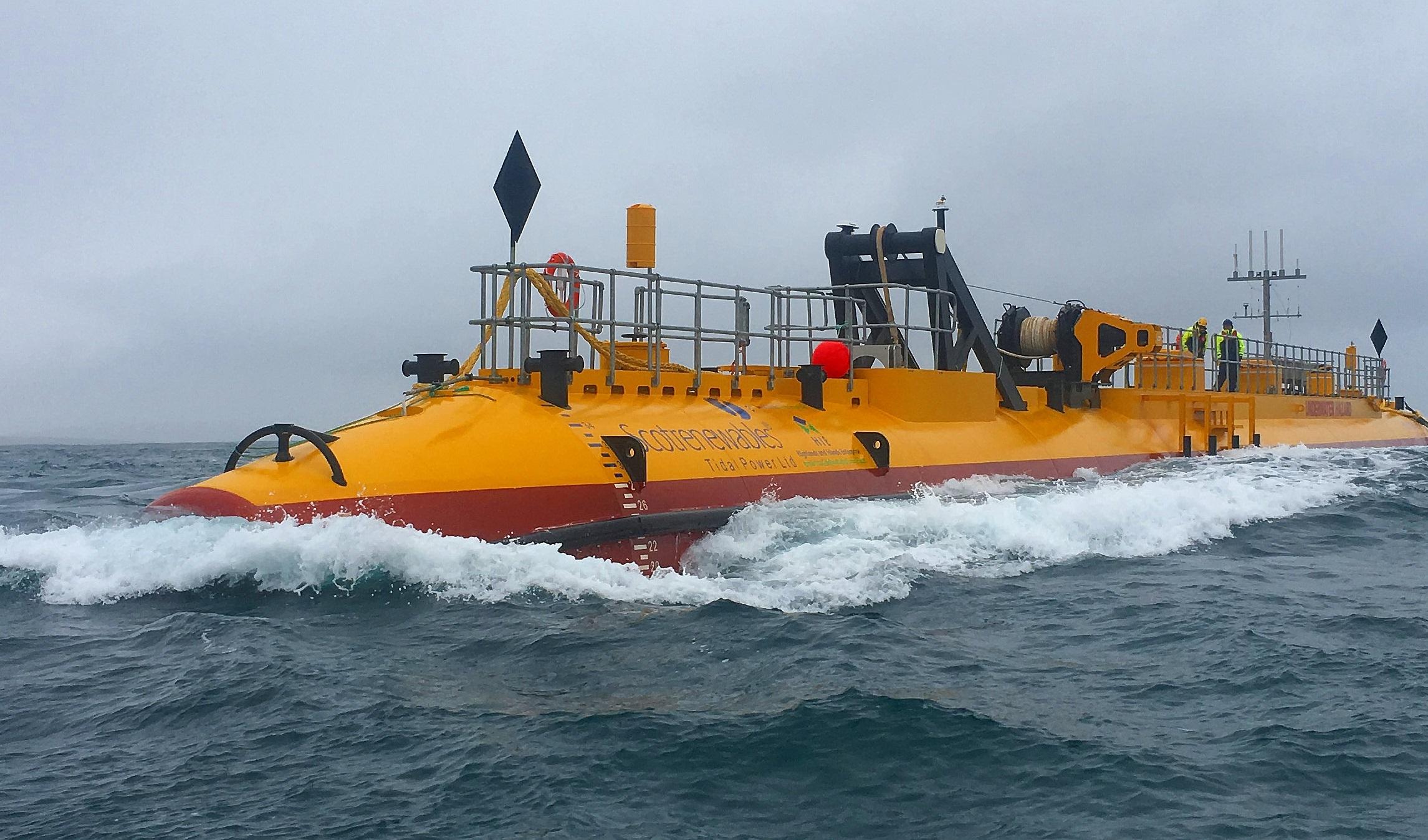 The SR2000 tidal turbine hits 1GW.