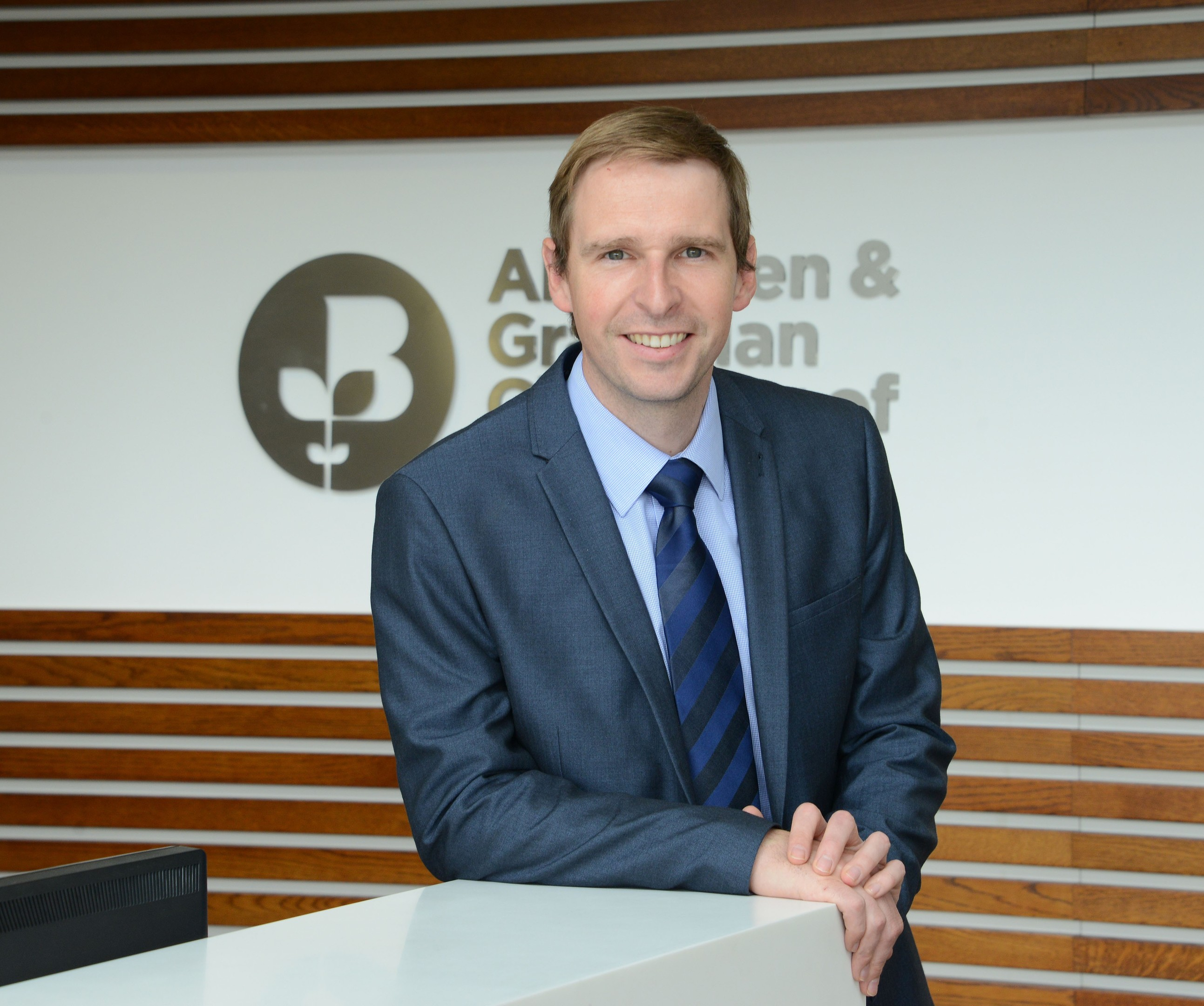 James Bream, research and policy director at the Aberdeen and Grampian Chamber of Commerce
