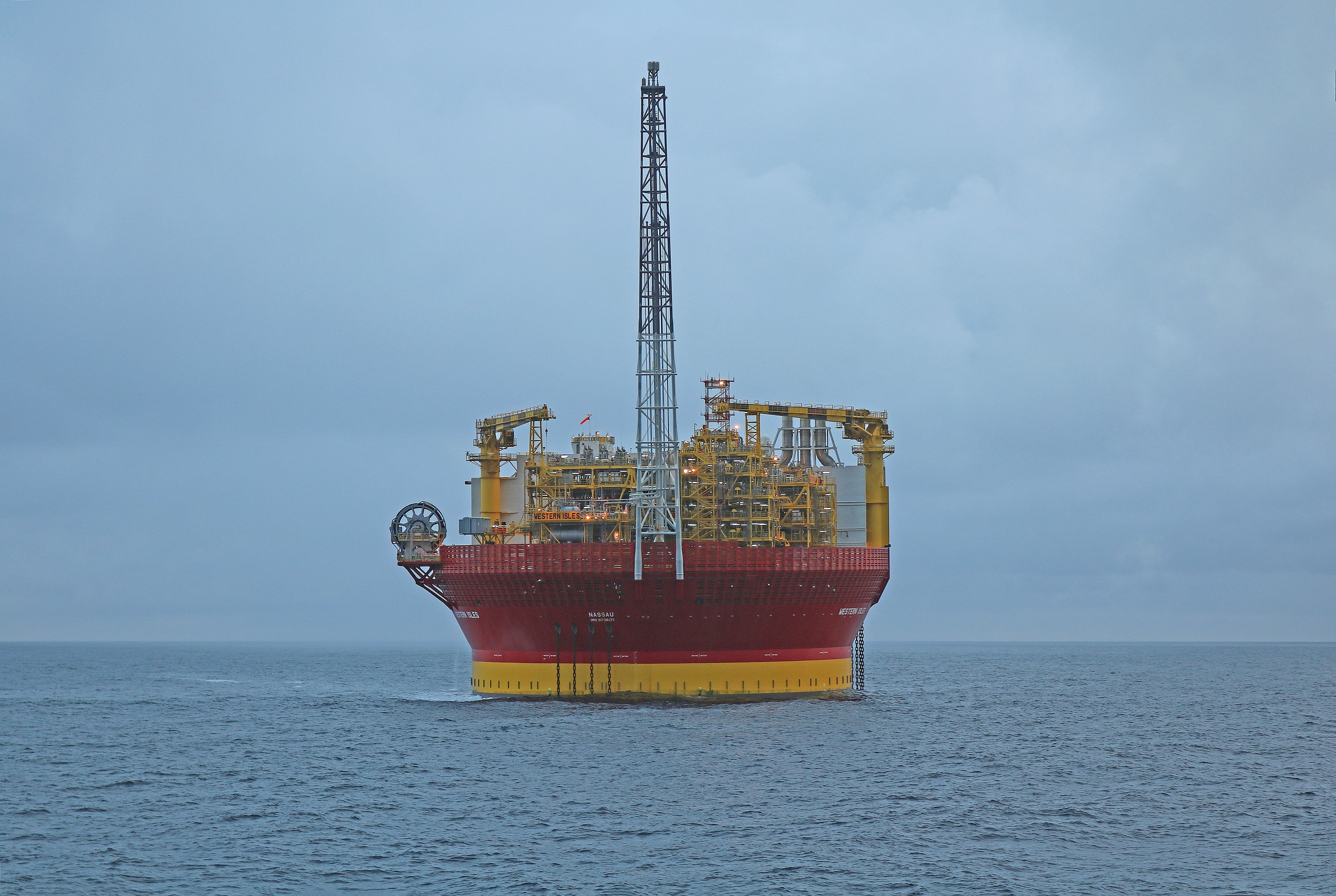 Dana Petroleum is owned by Korea National Oil Corporation. Pictured is Dana's Western Isles FPSO in the North Sea.