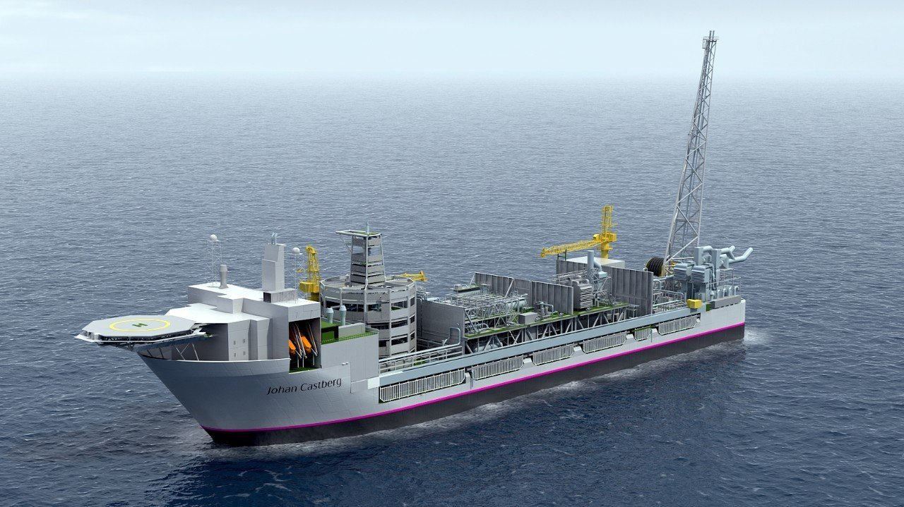 Johan Castberg floating production vessel