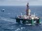 The semi-submersible drilling rig Leiv Eiriksson