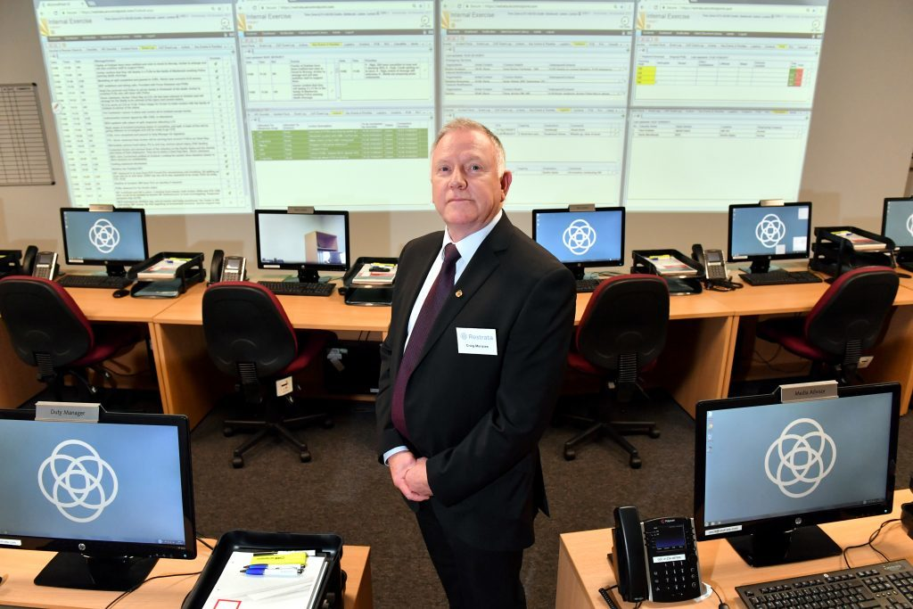 Restrata's UK manager Craig Menzies