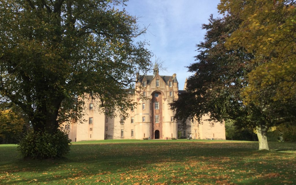 Fyvie Castle on Sunday. George Murray Westhill