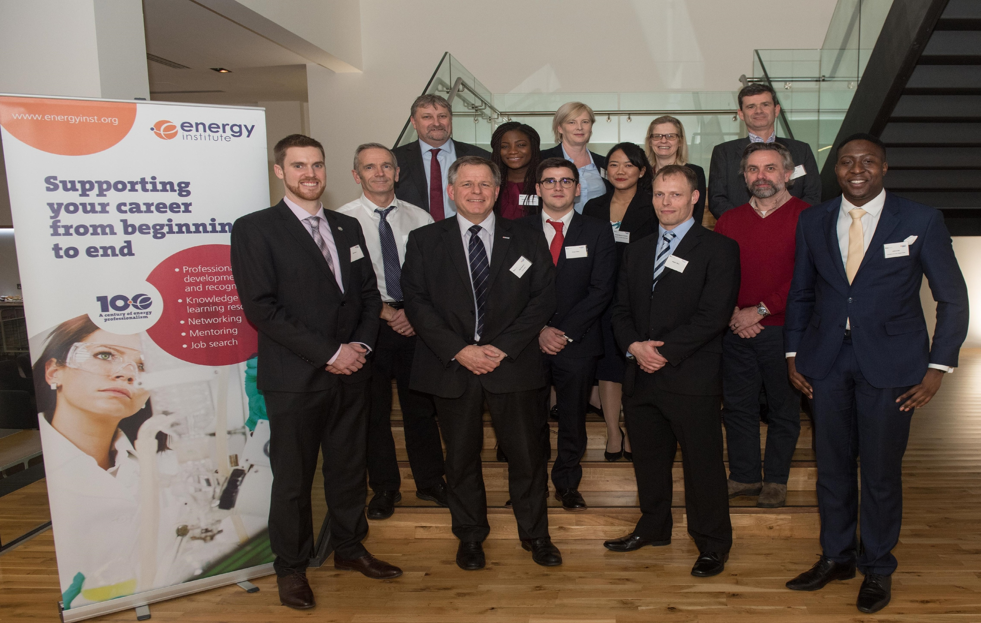 Aberdeen, Scotland, Tuesday 28th November 2017  MSc Best Student Energy Paper Competition with the Energy Institute in Aberdeen.   Picture by Michal Wachucik / Abermedia