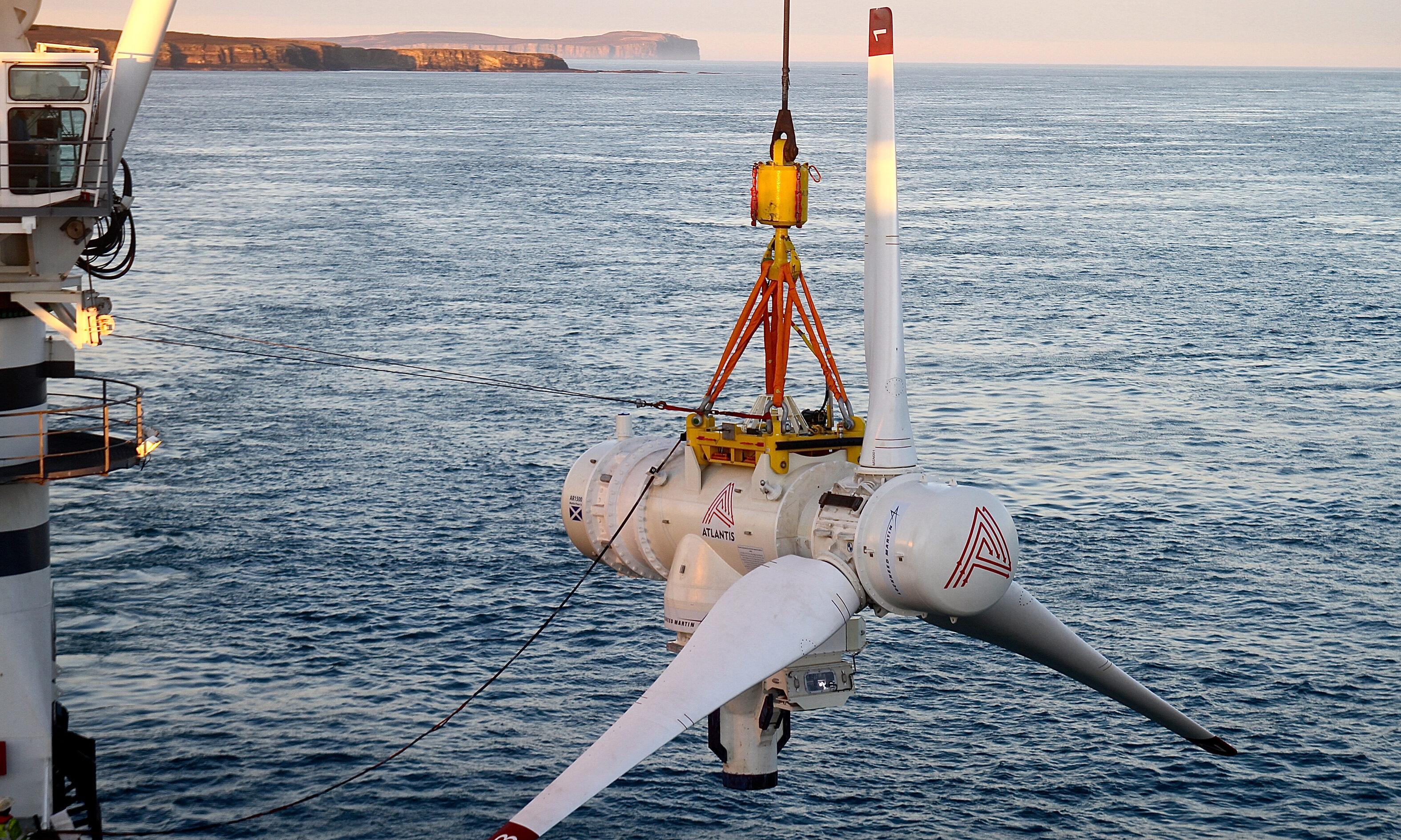 Simec Atlantis Energy owns the MeyGen tidal array in the Pentland Firth.