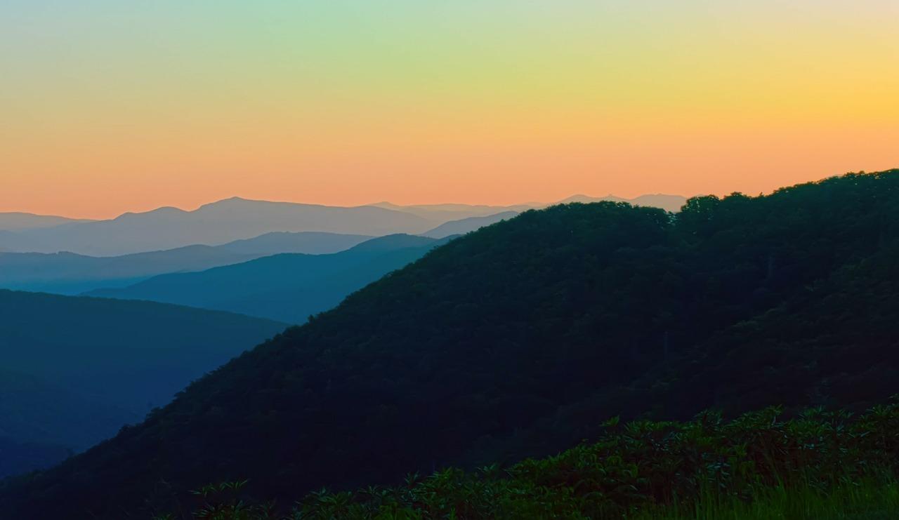 Appalachian mountains.