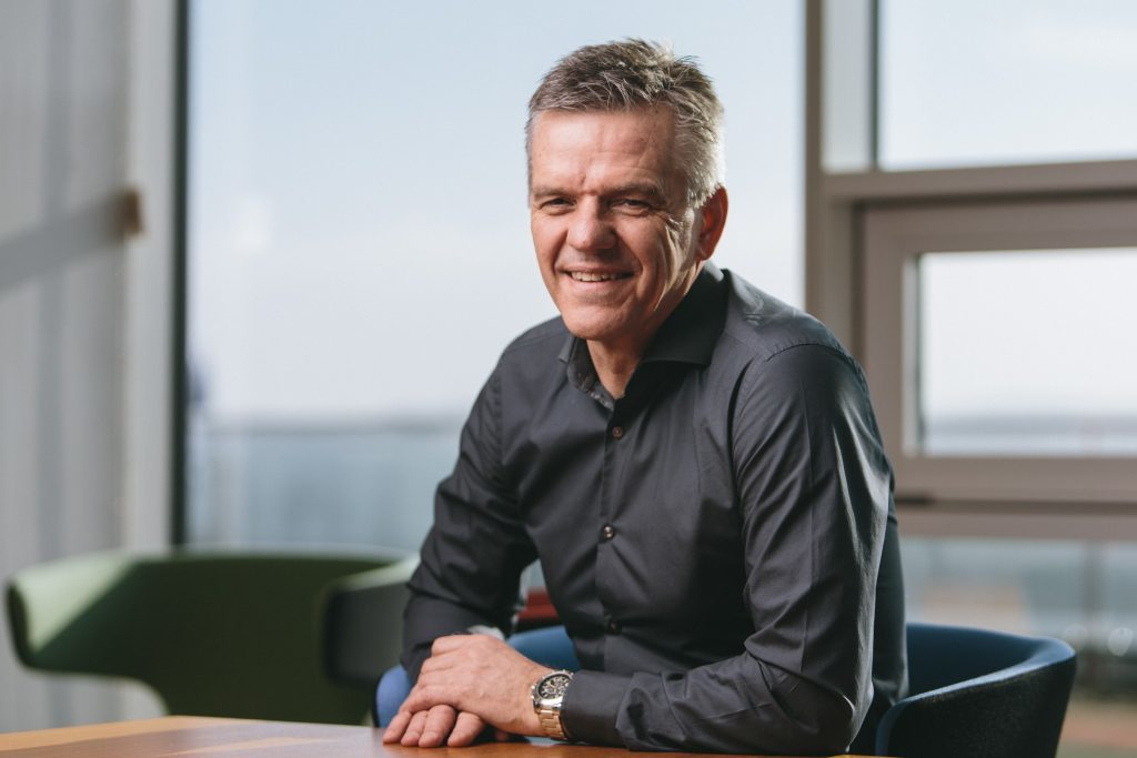 Spirit Energy chief executive Chris Cox