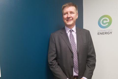 Matthew Lumsden, CEO of Connected Energy.