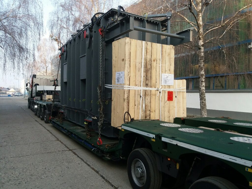 The transformer for the EOWDC wind farm