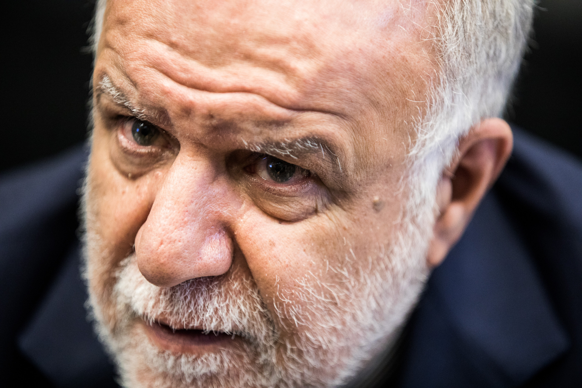 Bijan Namdar Zanganeh, Iran's petroleum minister, speaks to journalists ahead of the 173rd Organization of Petroleum Exporting Countries (OPEC) meeting in Vienna, Austria, on Thursday, Nov. 30, 2017. Photographer: Akos Stiller/Bloomberg