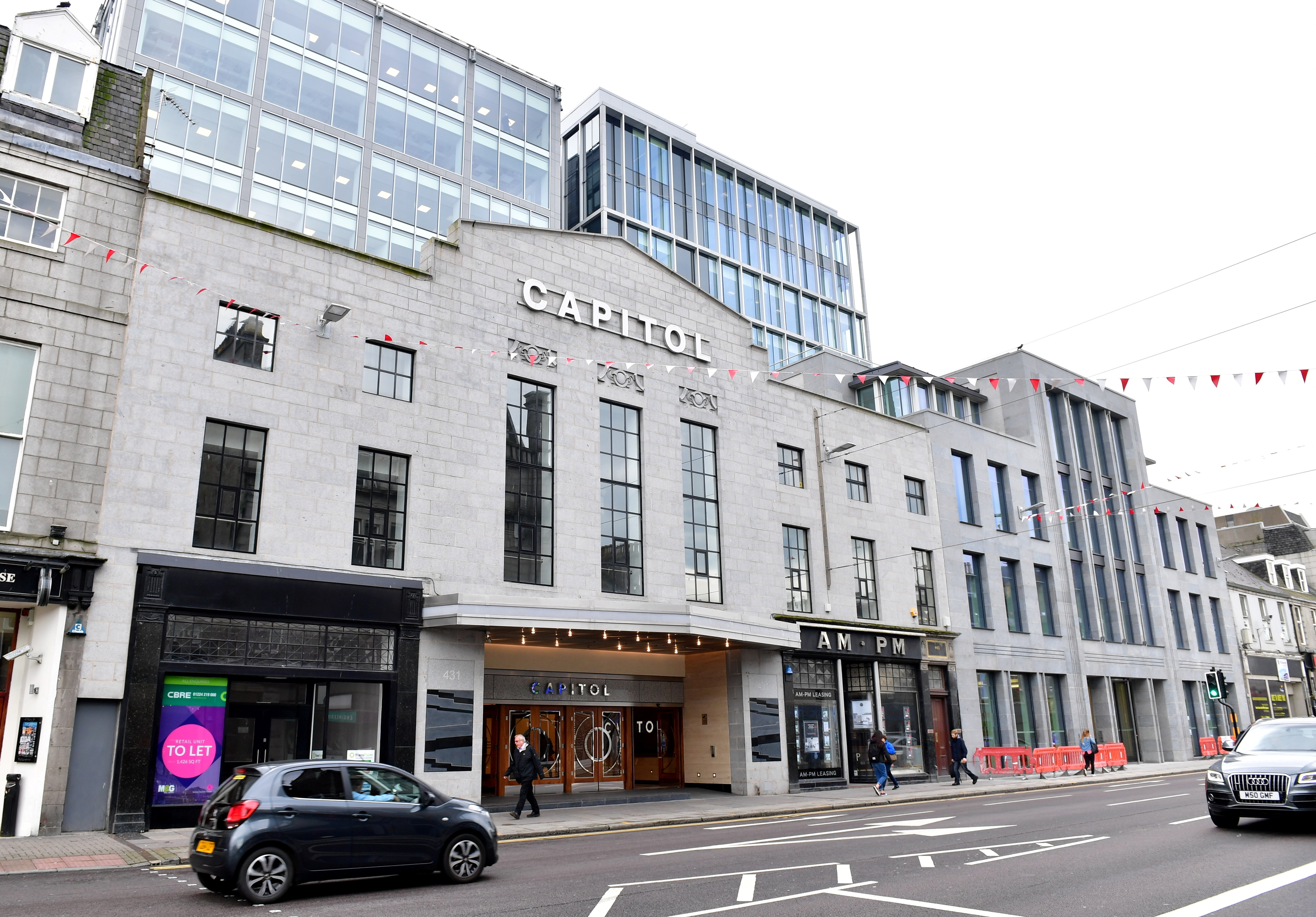 The Capitol building on Union Street, Aberdeen, which has won an award.