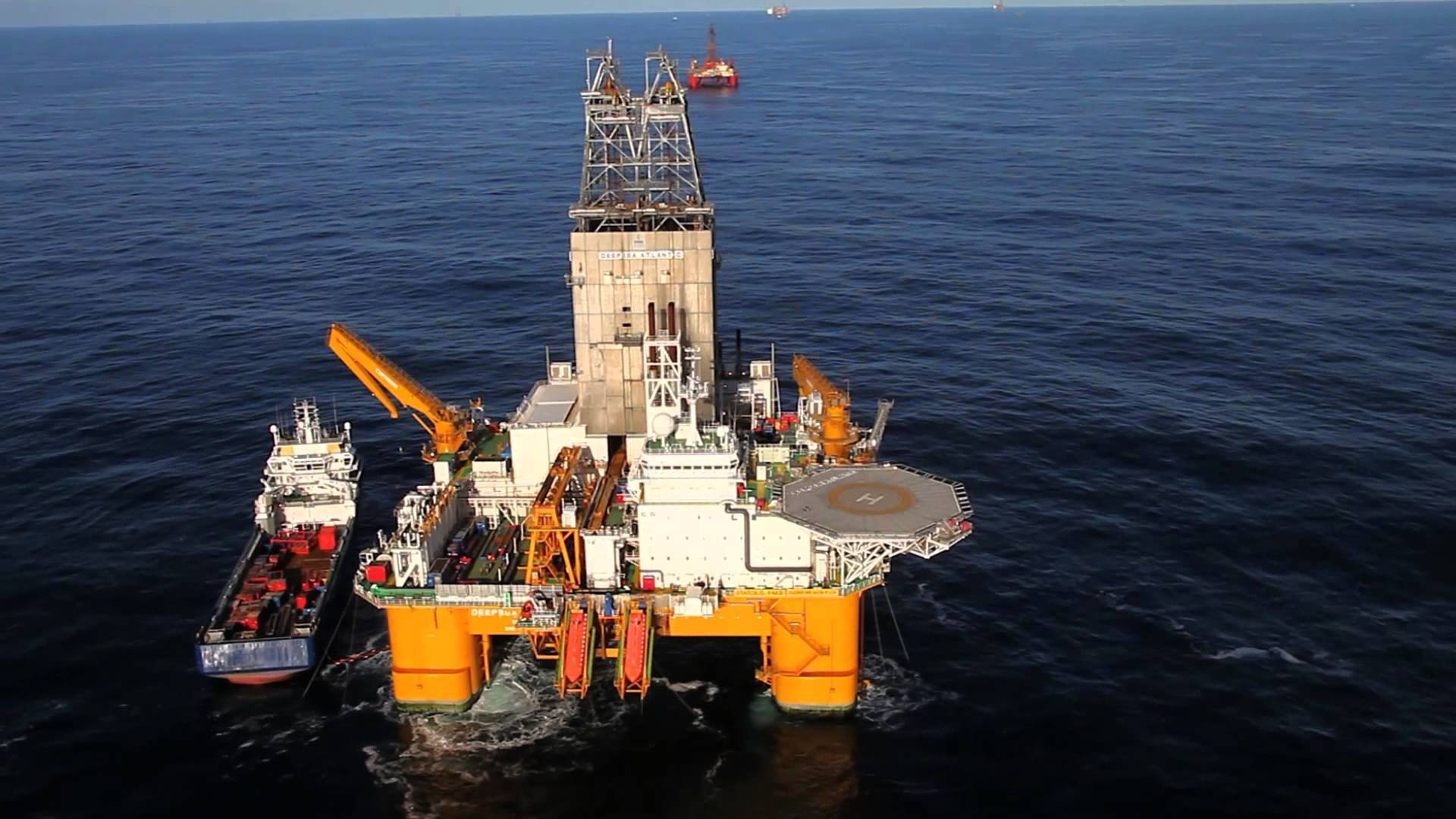 The Deepsea Atlantic is operated by Odfjell Drilling AS.