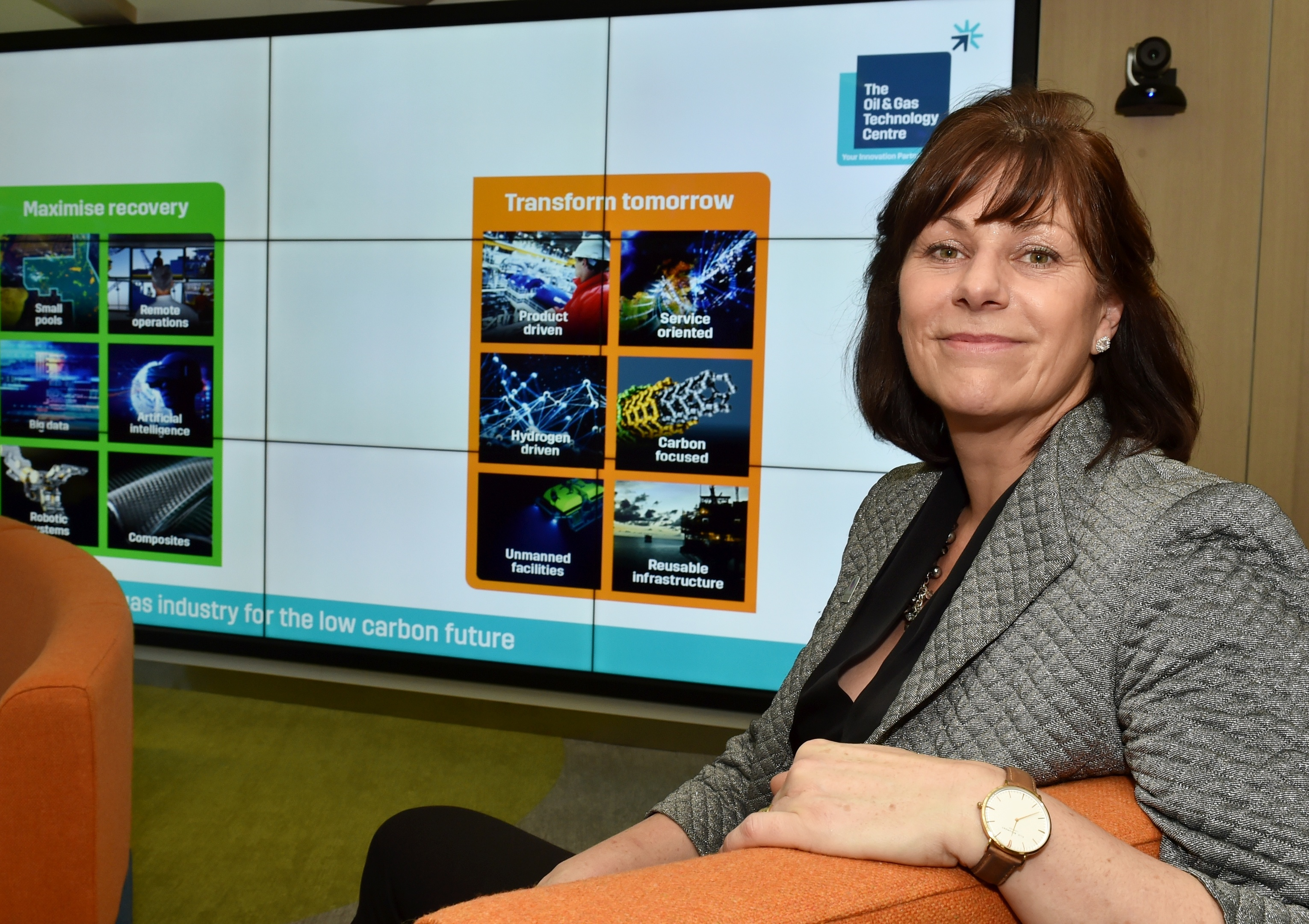 UK Energy and Clean Growth Minister Claire Perry, picturedv in Aberdeen earlier this year.