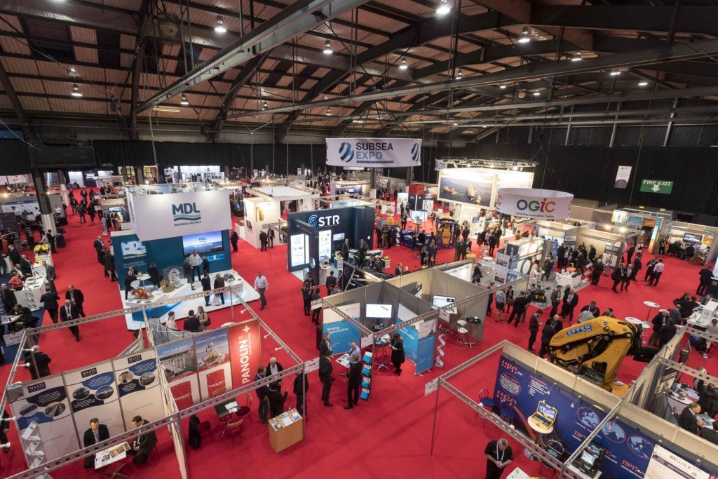 SUBSEA EXPO 2018 AT ABERDEEN EXHIBITION AND CONFERENCE CENTRE. DAY 2 PICTURE ISSUED BY SUBSEA UK AND FREE TO USE