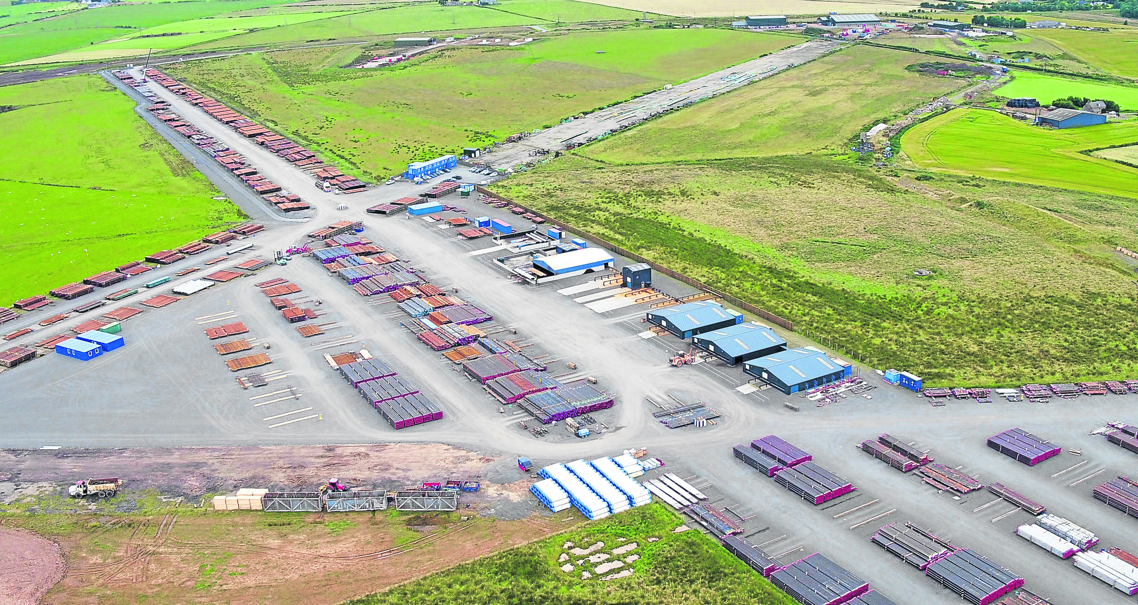 Based four miles from Peterhead port IOS's Longside supply base, with its comprehensive range of facilities, is in a prime location to provide an efficient, cost-effective service to operators and contractors