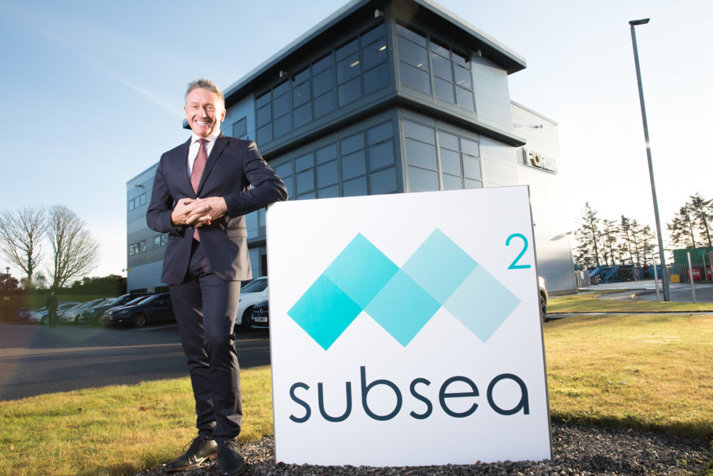 Mike Arnold, M² Subsea chief executive officer.