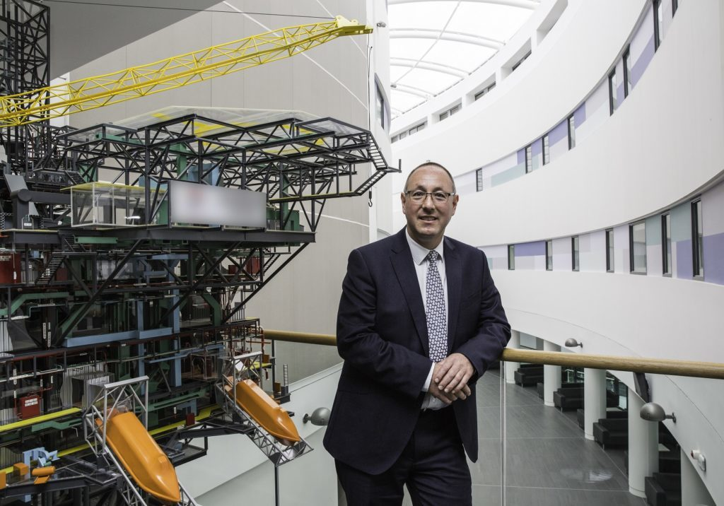 Professor Paul de Leeuw, director of RGU's Energy Transition Institute.