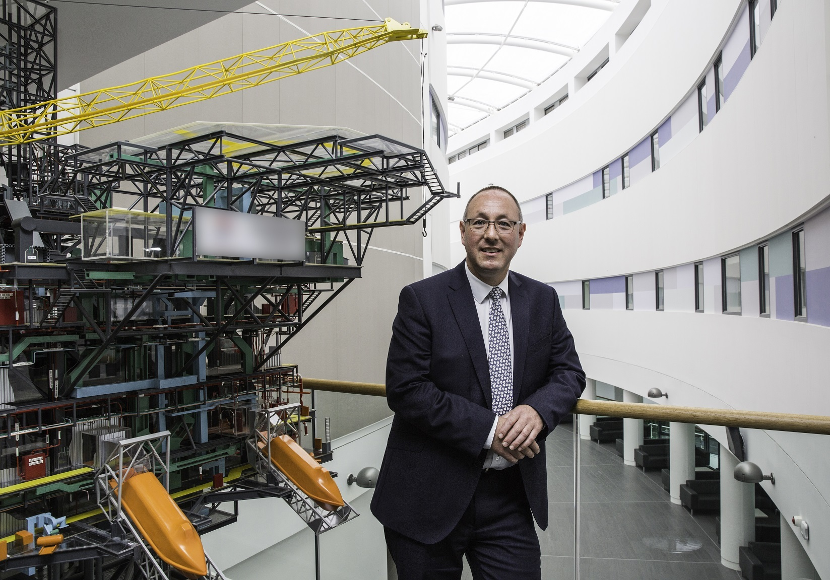 Professor Paul de Leeuw, director of RGU's Energy Transition Institute.